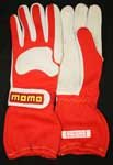 Momo Formula Evo Driving Gloves Red/Whi Size 08
