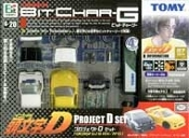 Tomy Bit Char-G Project D Remote Control Car G-20