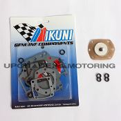Mikuni 44PHH Carburetor Gaskets Rebuild Kit with pump Diaphragm and Figure Eight O-rings