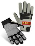 Momo Crew - Mechanics Gloves Grey Size 11