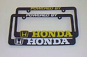 Powered by Honda - License Plate Frame