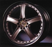 Volk Racing AV3 wheels.