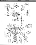 Mikuni Racing Carburetors Replacement Parts