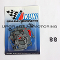 Mikuni 44 PHH Carburetor Gaskets Rebuild Kit with Two Figure Eight O-rings Package