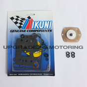 Mikuni 40 PHH Carburetor Gaskets Rebuild Kit with Pump Diaphragm and Figure Eight O-rings Z70-1040+PD/FE. Genuine Mikuni Parts Made in Japan. Solex.