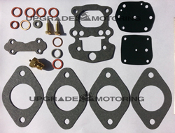 OEM Solex 40PHH Carburetor Gasket Rebuild Kits for BMW 1600Ti, 2000Ti 1964-1968
