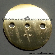 Mikuni Solex Carburetor - Throttle Valve (Throttle Plate). 50 PHH. Stamped #180. Genuine Mikuni. Made in Japan. On Sale at Upgrade Motoring!