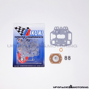 Mikuni Solex Type S4 Carburetor Gasket Rebuild Kit With Pump Diaphragm and Figure Eight O-Rings