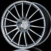 Yokohama Connoisseur 151C 20x10.0 5x120 +22 Silver Metallic. wheels on Sale at Upgrade Motoring!