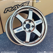 Volk Racing TE37 17x9.5 5x114.3 +40 Bronze Single, Blemished wheel on Sale at Upgrade Motoring!!