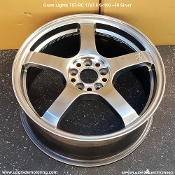 Gram Lights T57RC 17x7.0 5x100 +50 Silver Wheel on Sale at Upgrade Motoring!