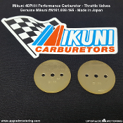 Mikuni 40PHH Carburetor Replacement Throttle Valves #165. N101.038.165