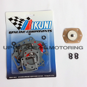 Mikuni 44 PHH Carburetor Gaskets Rebuild Kit Z70-1044 with pump Diaphragm and Figure Eight O-rings. Genuine Mikuni parts - Made in Japan. Solex.