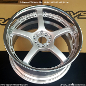 G-Games 77W Vaio 19x10.5 5x100/114.3 +42 Silver Machine Cut Lip Wheels on Sale at UpgradeMotoring.com