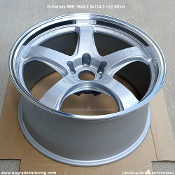 G-Games 99B 19x9.5 5x114.3 +22 Silver Wheels by Rays Engineering on Sale at Upgrade Motoring!