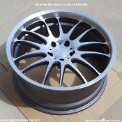 Versus Strahlen ME 20x8.5 5x120 +14 DC/GM Forged Wheel. Single. Made by Rays Engineering. Made in Japan.
