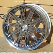 RMP LUG X10 20x9.5 5x120 +46 Face 2 RMC Wheel - Forged. New, Single. Discontinued. Made by Rays Engineering. Made in Japan.