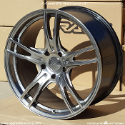 G-Games NTL 19x9.0 5x120 +50 Silver wheels on sale at Upgrade Motoring!
