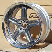Volk Racing GT-C 20x9.5 5x114.3 +22 Gun Metal Face 2 wheels on Sale at Upgrade Motoring!