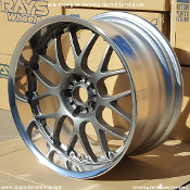 Volk Racing SF Winning 19x10.5 5x114.3 +29 Gun Metal Single. No center cap included. Two Piece Forged Construction. Made by Rays Engineering. Made in Japan