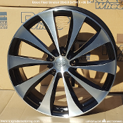 Black Fleet Sinclair 20x8.0 5x114.3 +38 DK Wheel On Sale at Upgrade Motoring!