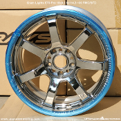 Gram Lights 57S Pro 18x8.5 5x114.3 +30 RMC center, Standard lip. Discontinued. Single wheel.