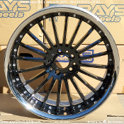 Versus BL20FX / Radenergie R20 - 20x10.5 5x112 +25 Black - Single. 2 piece wheels. Made by Rays Engineering for Radenergie. Made in Japan.