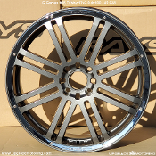 G-Games #55 Tabby 17x7.0 4x100 +42 GM Wheel On Sale at Upgrade Motoring!