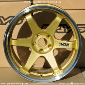 Volk Racing LE37T 19x9.5 5x114.3 +12 Gold DC Wheel on Sale at Upgrade Motoring!