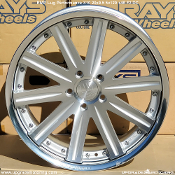 RMP LUG X10 20x9.5 5x120 +46 Face 2 DC Wheel - Forged. New, Blemished. Single. Discontinued. Made by Rays Engineering. Made in Japan.