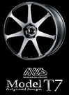 Yokohama Model T7 19x10.0 5x114.3 +25 Silver Metallic wheels on Sale at Upgrade Motoring!