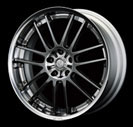 Volk Racing GT-30 20x9.5 5x114.3 +35 Black/Phantom (Black Lip). Display model. Single Wheel available. No sets. Two piece wheel construction. Forged outer, cast center.