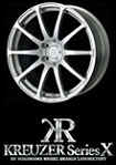 Yokohama Kreutzer Series X 18x9.0 5x114.3 +38 Dark Gun Metallic wheels on sale at Upgrade Motoring!
