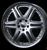 RMP DIA 106 19x9.5 5x114.3 +40 Diamond Cut. Forged two piece wheel. Single. Two wheels currently available. Made by Rays Engineering. Made in Japan. Discontinued application